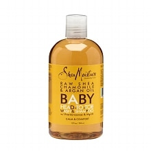 Organic Raw Shea Chamomile & Argan Oil Baby Head-to-Toe Wash & Shampoo
