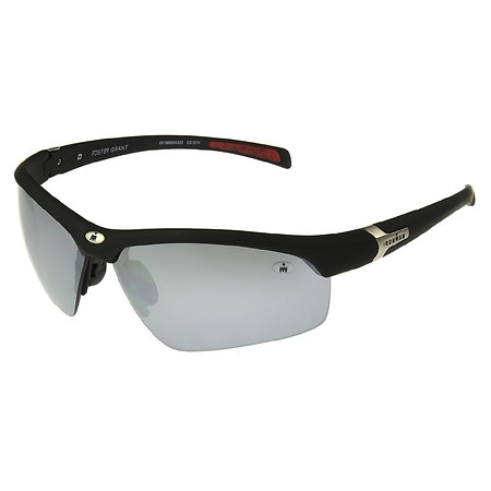 Foster Grant Iron Man Plastic Sunglasses Principle Black