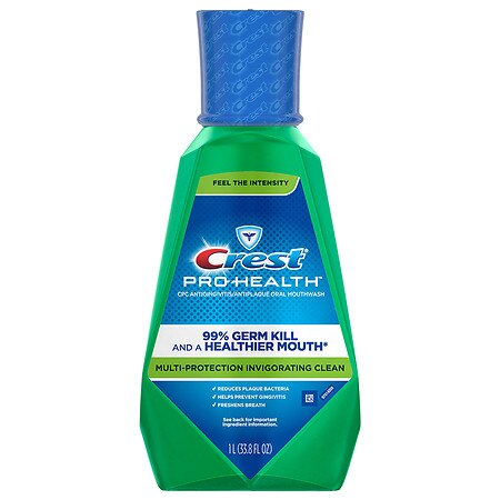 Crest Pro-Health Invigorating Clean Multi-Protection CPC Antigingivitis/Antiplaque Oral Rinse Invigorating Mint