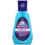 Crest Pro-Health Complete Anticavity Fluoride Rinse, Alcohol Free Fresh Mint