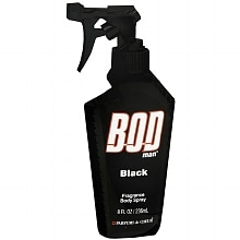 BOD man Fragrance Body Spray Black