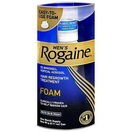 Rogaine Hair Regrowth Treatment Foam 1 Month Supply