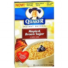 Quaker Instant Oatmeal 10 Pack