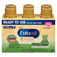 Enfamil ProSobee Ready to Use 8 oz Bottles
