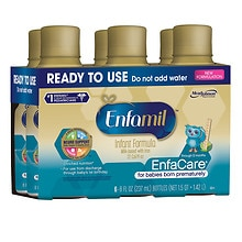 Enfamil Enfacare Enfacare Ready to Use 8 oz Bottles