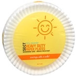 Sunny Smile Heavy Duty Paper Plates