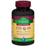 Finest Nutrition Co Q-10 200 mg Dietary Supplement Softgels