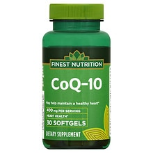 Co Q-10 400 mg Dietary Supplement Softgels