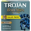 Trojan BareSkin Sensitivity Premium Lubricant Latex Condoms