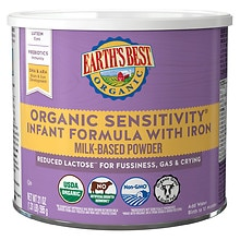 Earth's Best Organic Sensitivity Infant Formula