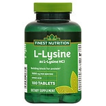 L-Lysine 1000 mg Dietary Supplement Tablets
