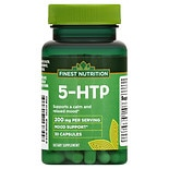 Finest Nutrition 5-HTP 100 mg Dietary Supplement Capsules