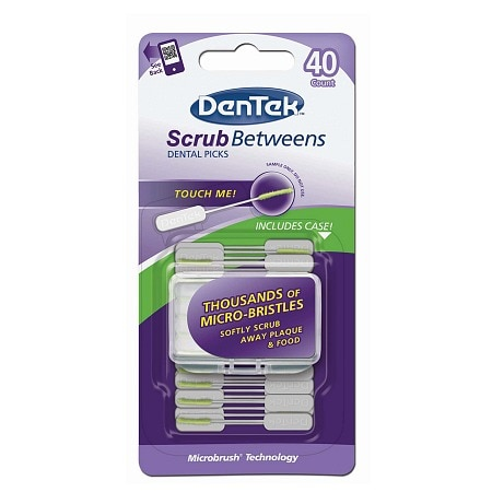 DenTek Scrub Betweens Dental Picks