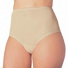 Wearever Reusable Women's Cotton Comfort Incontinence Panty White