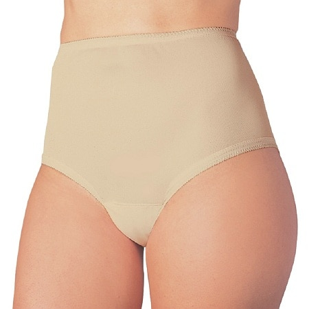 Wearever Reusable Women's Cotton Comfort Incontinence Panty Beige