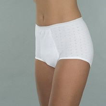 Wearever Reusable Women's Super Incontinence Panty White