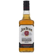 Jim Beam Kentucky Straight Bourbon Whiskey 750 mL Bottle