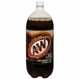 A&W Root Beer Soda 2 Liter Bottle