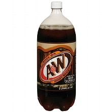 A&W Root Beer Soda 2 Liter Bottle 2 Liter Bottle 2 Liter Bottle