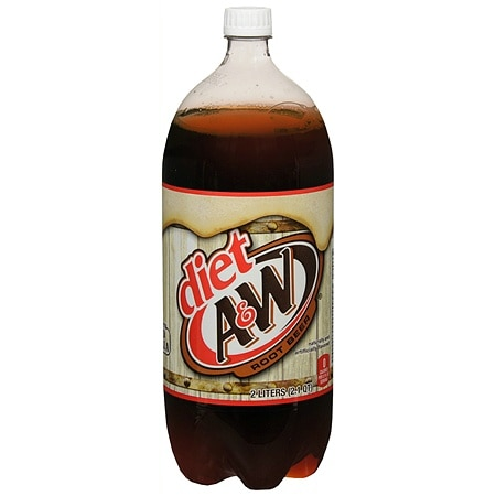 Diet A&W Soda Root Beer