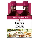 Sutter Home California White Zinfandel Wine 2008 187 mL Bottles 4 Pack