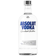 Absolut Vodka 750 mL Bottle