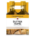 Sutter Home California Chardonnay Wine 2008 187 mL Bottles 4 Pack