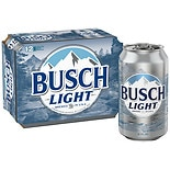 Busch Light Beer 12 oz Cans 12 Pack