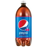 Pepsi Soda 2 Liter Bottle