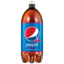 Pepsi Soda 2 Liter Bottle Wild Cherry