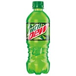 Mountain Dew Soda 20 oz Bottle