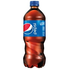 Pepsi Soda 20 oz Bottle