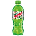 Diet Mountain Dew Soda 20 oz Bottle