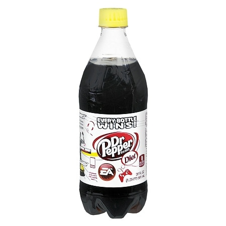 Diet Dr. Pepper Soda 20 oz. Bottle