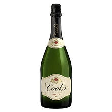 Cook's California Champagne 750 mL Bottle Brut