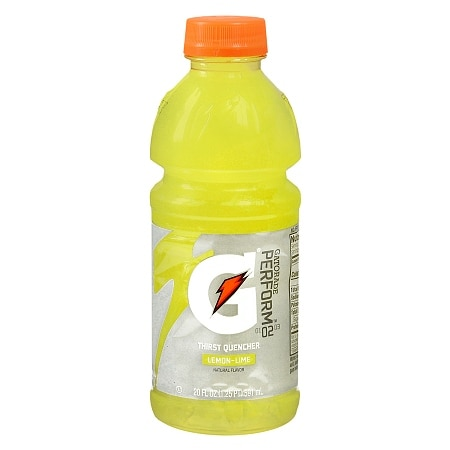 Gatorade Perform 02 Thirst Quencher Beverage Lemon Lime