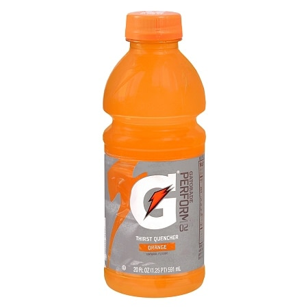 Gatorade G Series Perform 02 Thirst Quencher Orange