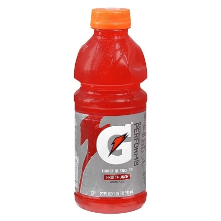 Gatorade Perform 02 Thirst Quencher Beverage Fruit Punch