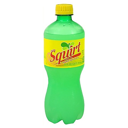 Squirt Soda Citrus,20 oz. Bottle