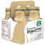 Starbucks Coffee Frappuccino Coffee Drink 4 Pack Vanilla
