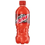 Mountain Dew Code Red Soda 20 oz Bottle