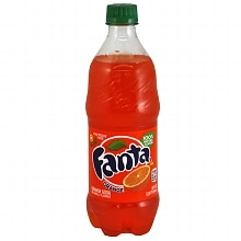 Fanta Soda 20 oz Bottle Orange
