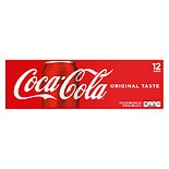 Coca-Cola Soda 12 Pack 12 oz Cans
