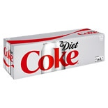 Diet Coke Soda 12 oz Cans