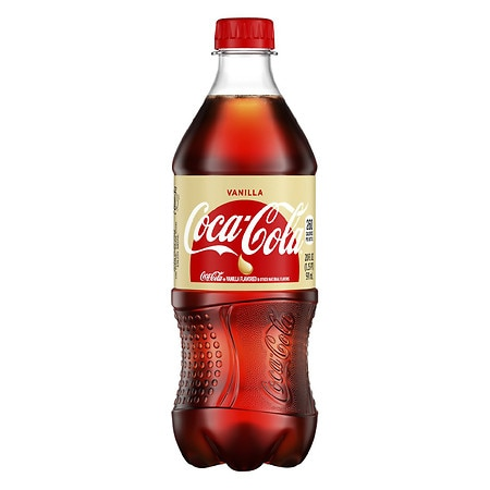 Coca-Cola Soda Vanilla,20 oz. Bottle