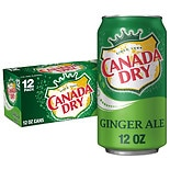 Canada Dry Soda 12 Pack 12 oz Cans Ginger Ale