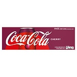 Coca-Cola Soda 12 Pack 12 oz Cans Cherry