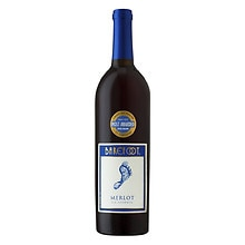Barefoot California Merlot Wine 750 mL Bottle