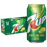 7-Up Soda Lemon-Lime,12 oz Cans