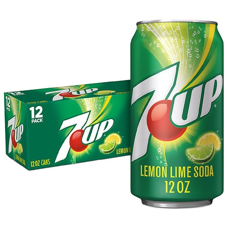 7-Up Soda Lemon-Lime, 12 pk